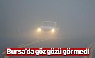 Bursa'da göz gözü görmedi