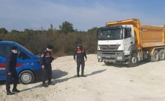 Bursa'da kaçak hafriyat dökümüne para cezası yağdı