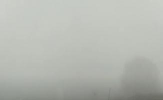 Bursa'nın dağ ilçelerinde sis