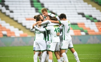 Bursaspor'un Ümraniyespor'a karşı mağlubiyeti yok