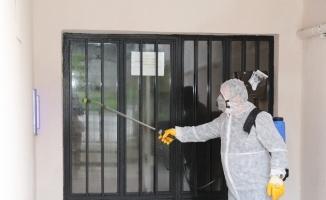 Mudanya'nın dört bir yanı dezenfekte ediliyor