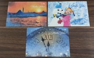 PTT'den ücretsiz yeni yıl kartları