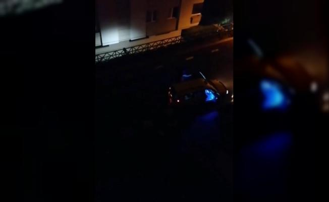 Sokağa çıkma kısıtlamasında mahalleyi ayağa kaldırdılar
