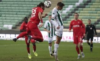 TFF 1. Lig: Bursaspor: 1 - Ümraniyespor: 3
