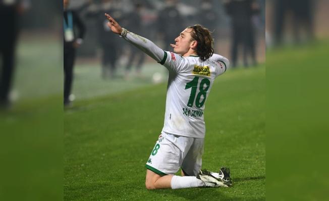 Ali Akman 10 gole ulaştı - TFF 1.Lig'in en genç golcüsü