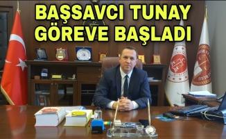 Başsavcı Tunay göreve başladı