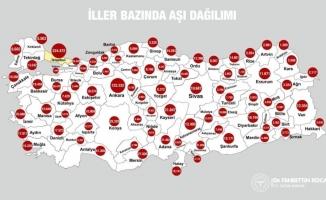Bursa'da aşı olanların sayısı belli oldu