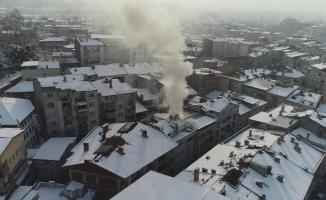 Bursa'da itfaiye ekiplerinin zor anları