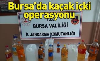 Bursa'da kaçak içki operasyonu: 1 gözaltı