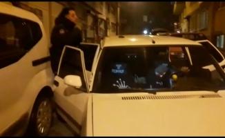 Bursa'da polis kovalamacası sonucu yakalandılar