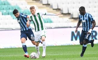 Bursaspor deplasmanda Adana Demirspor'la karşılaşacak