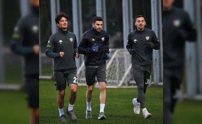 Bursaspor'da Altınordu maçı hazırlıkları başladı