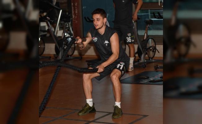 Bursaspor'da Altınordu maçı hazırlıkları devam ediyor - Yeşil beyazlı takım kuvvet çalıştı