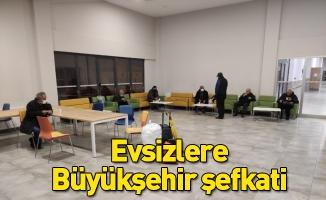 Evsizlere Bursa Büyükşehir şefkati