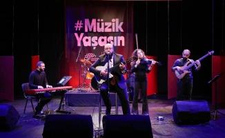 Korona virüs salgınından etkilenen 115 müzisyene anlamlı destek
