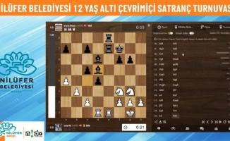 Nilüfer'de satranç turnuvasına büyük ilgi