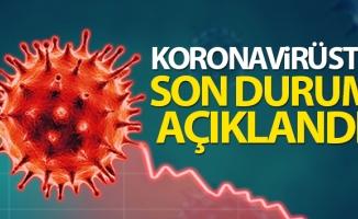 Son 24 saatte korona virüsten 149 kişi hayatını kaybetti
