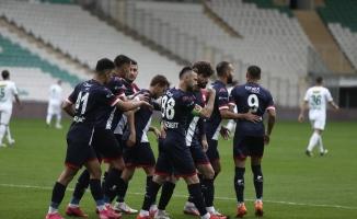Ziraat Türkiye Kupası: Bursaspor: 0 - Antalyaspor: 3 (İlk yarı)