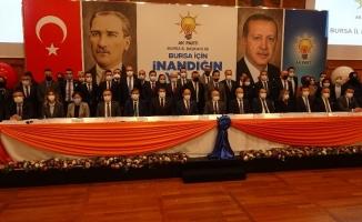 """Gürkan: """"Bursa'yı 17 ilçesiyle büyük bir aile olarak görüyoruz"""""""