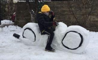 Kardan geriye kalan gülümseten anlar