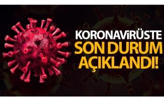 Son 24 saatte korona virüsten 66 kişi hayatını kaybetti
