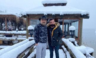 Volkan Konak 1,5 yıl aradan sonra Türkiye'ye geldi