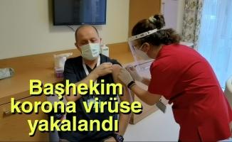 Başhekim korona virüse yakalandı