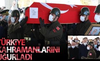 Bitlis şehitlerimiz son yolculuklarına uğurlandı
