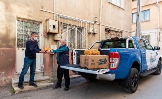 Bursa Büyükşehir'den hem çiftçiyi hem vatandaşı mutlu eden yardım