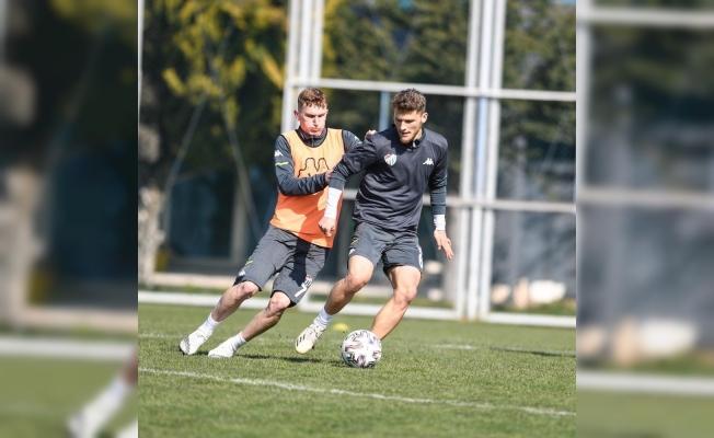Bursaspor'da Boluspor maçı hazırlıkları hız kazandı