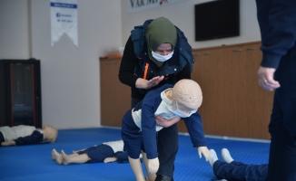 Büyükşehir personeline âfet eğitimi