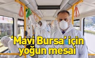 'Mavi Bursa' için yoğun mesai