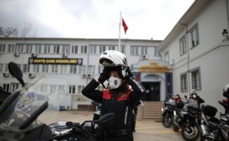 (Özel) Bursa'da 500 kadın polis her alanda güvenliği sağlıyor