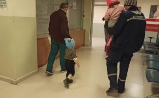Tiner içen ikiz bebekler hastanelik oldu