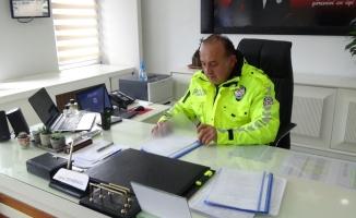 2 kez gazi olan polisin meslek aşkı