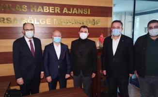 """AK Parti İl Başkanı Gürkan'dan Kemal Kılıçdaroğlu'na teşekkür, Akşener'e """"geçmiş olsun"""" dileği"""