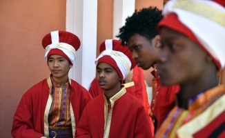 Bursa'da yabancı öğrenciler mehter takımı kurdu