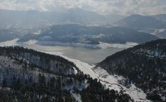 Bursa'da yağışlar sevindirdi, son yağışlarla birlikte su seviyesi 2 aylık arttı