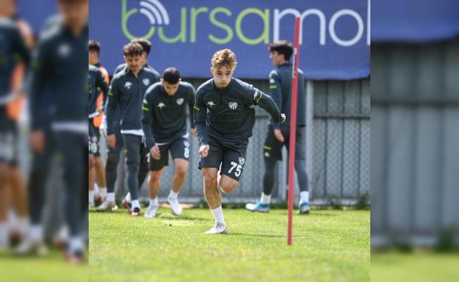 Bursaspor'da Ümraniyespor maçı hazırlıkları tamamlandı