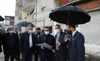 İnegöl Yeniceköy'de yeni yaşam alanı doğuyor