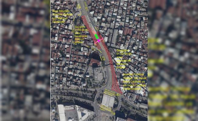 İstanbul Caddesinde trafik düzenlemesi