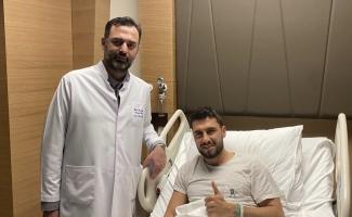 Operasyon geçiren Bursasporlu Cüneyt Köz'den teşekkür mesajı