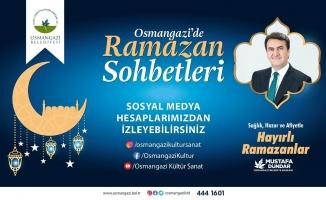 Osmangazi'de ramazan coşkusu evlere taşınıyor