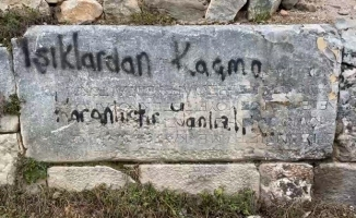 (Özel) İznik'te tarihe saygısızlık