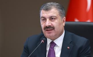 Sağlık Bakanı Koca: 'Hastanelerimizde gece saat 24'e kadar aşı randevusu verilmektedir'