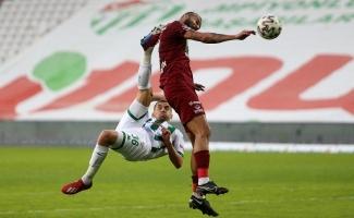 TFF 1. Lig: Bursaspor: 0 - Bandırmaspor: 1 (İlk yarı sonucu)