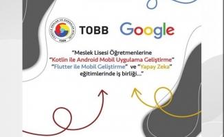 TOBB ve Google'dan meslek lisesi öğretmenlerine eğitim