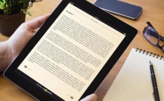 Türkiye'de e-kitap kullanımı yüzde 6,8