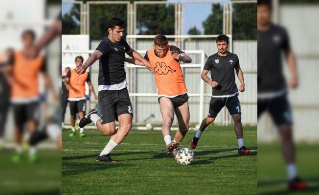 Bursaspor'da Keçiörengücü maçı hazırlıkları devam ediyor