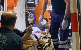 Husumetlisi tarafından baltayla yaralandı